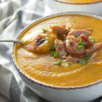 Butternut Squash Apple Sausage Soup