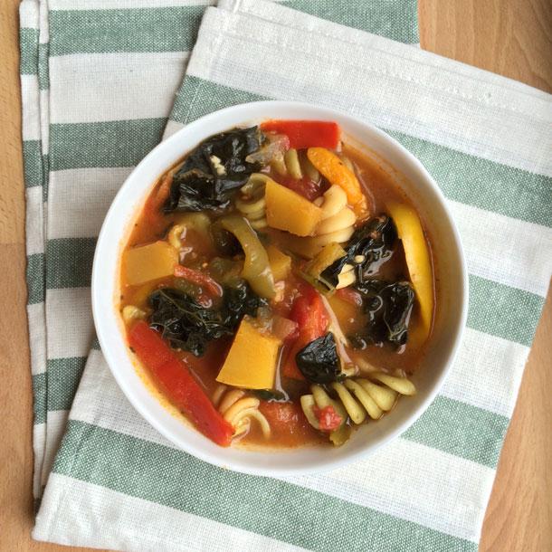 Crock Pot Cold-Buster Soup with a Kick