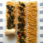 sweet potato chard lasagna