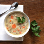 cream of turkey wild rice soup