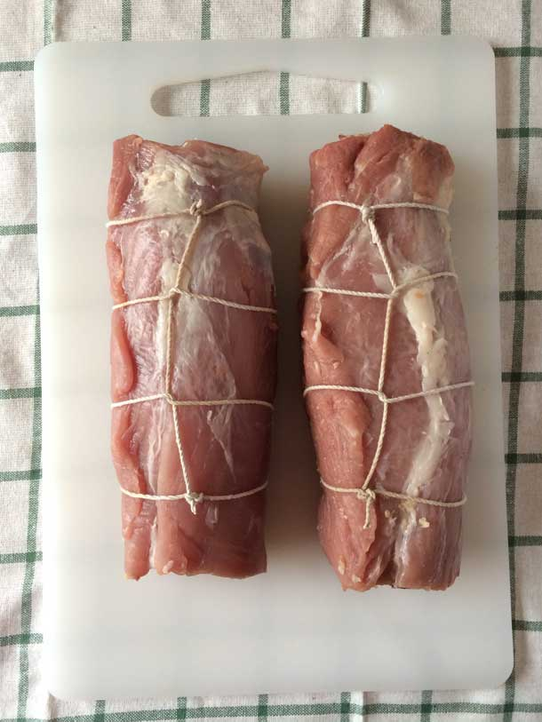 How To Cut and Tie a Pork Loin for Stuffing