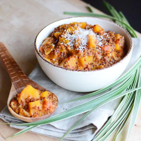 Crock Pot Quinoa Curry