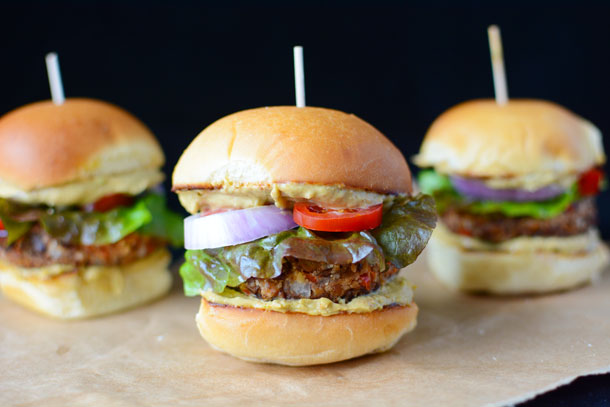 Game Day Vegan Chipotle Sliders