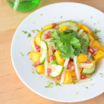 Spicy Tropical Radish Salad