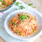 blushing rutabaga noodles