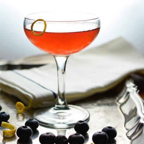 blueberry maple sazerac