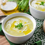 Celeriac and Fennel Soup