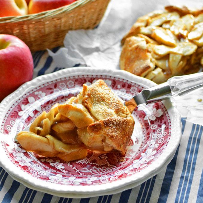 No Fuss Apple Wrapper Pie