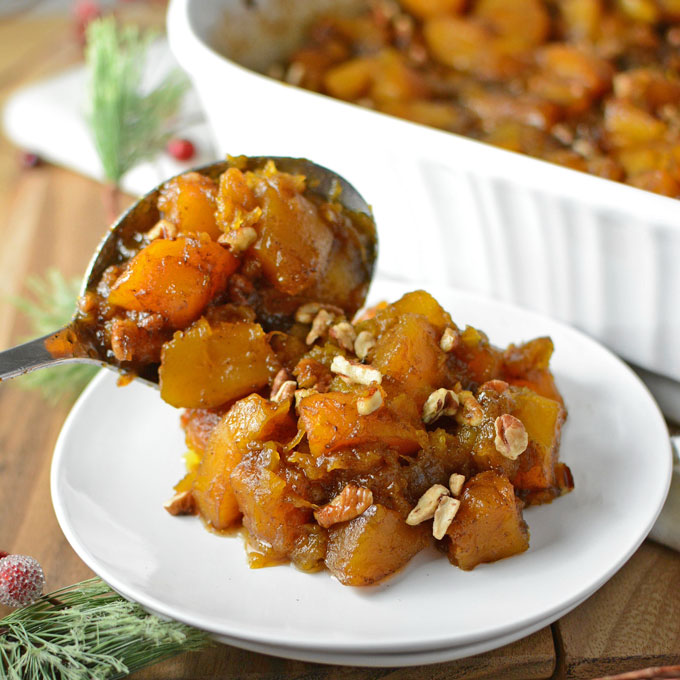 candied North Georgia candy roaster squash