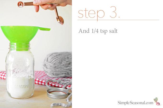 DIY Jarred Gift - Chocolate Cherry Oat Scones - Step 3
