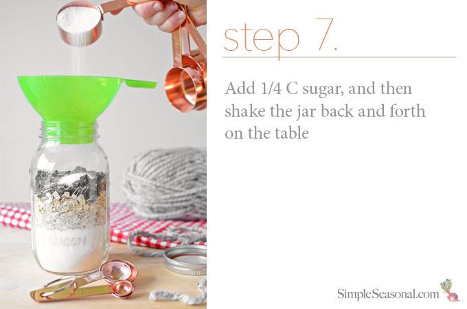 DIY Jarred Gift - Chocolate Cherry Oat Scones - Step 7