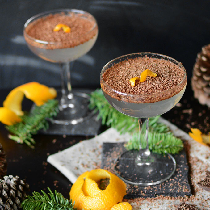 Chocolate Orange Cocktail