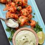 Sticky Chipotle Cauliflower Wings
