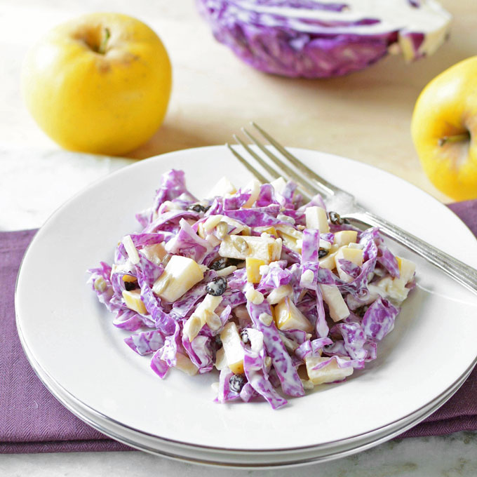 Opal Apple And Red Cabbage Slaw Simple Seasonal