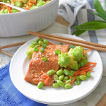Sesame Ginger Salmon and Vegetables