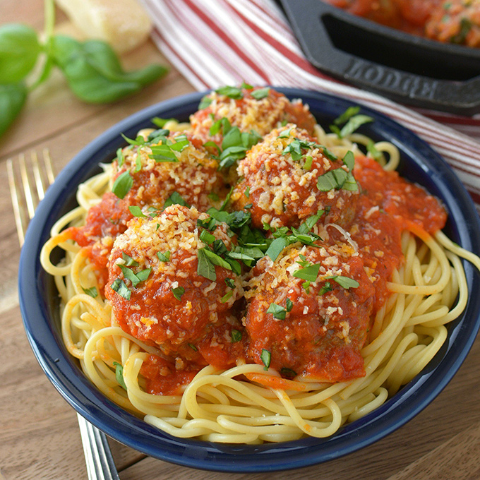 Italian Meatballs with Beef and Pork
