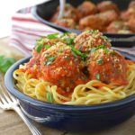 Beef and Pork Italian Meatballs
