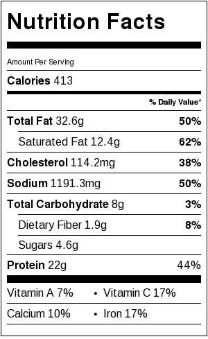 Italian-Meatballs-with-beef-and-pork-nutrition-data
