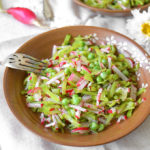 Julienned Snow Pea and Radish Salad