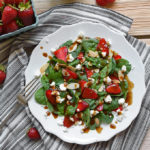 Strawberry and Spinach Salad with Balsamic