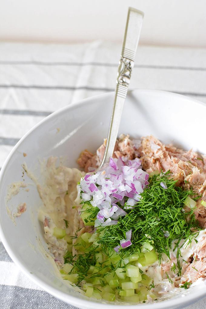 Mixing Up Som Tuna Salad