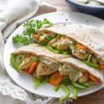 Lemon Pepper Chicken Pitas