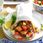 Grilled Chicken Shawarma Pitas
