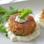 Maryland Style Blue Crab Cakes - Finally, a crab cake recipe that everyone can get behind. Lots and lots of crab and ZERO pointless filler! | SimpleSeasonal.com