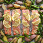 Sheet Pan Lemon Pepper Salmon and Veggies