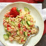 Strawberry Poppy Seed Couscous Salad
