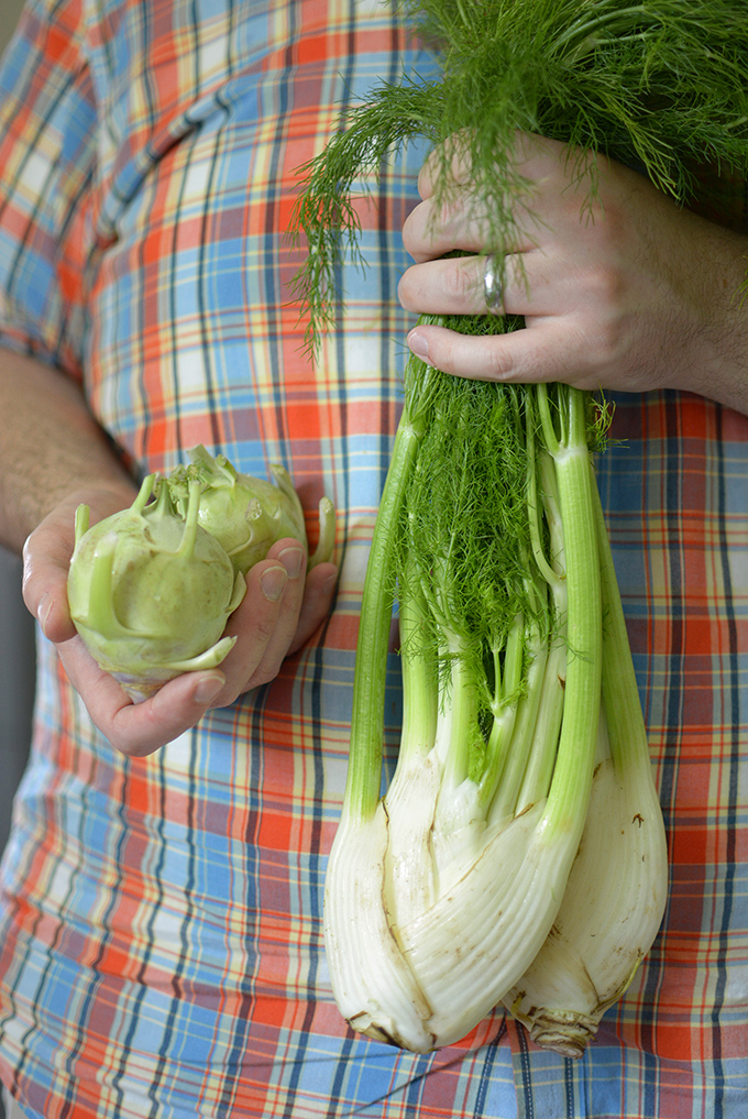 Kohlrabi and Fennel