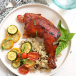 Sheet Pan BBQ Chicken with Summer Squash
