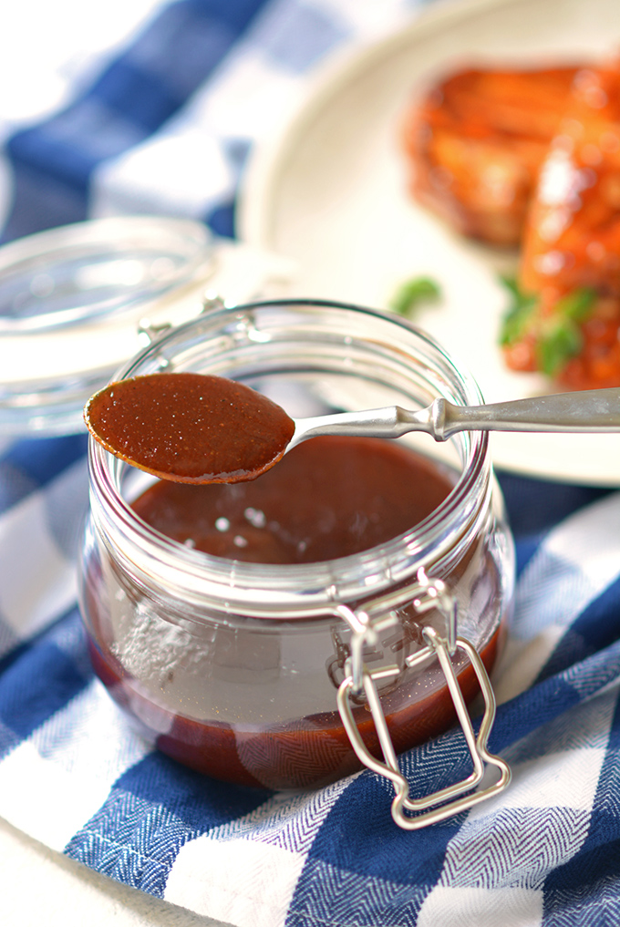 Homemade Sweet Chipotle BBQ Sauce
