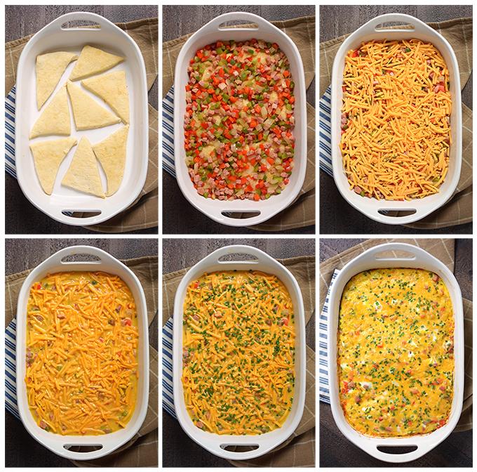 How To Make Baked Denver Omelet Casserole