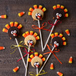 No Bake Turkey Cookie Pops