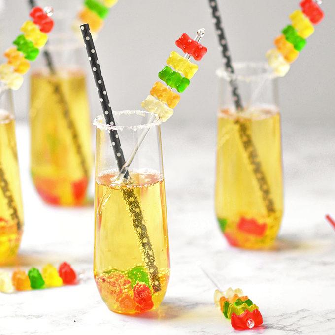 Gummy Bear Mocktails