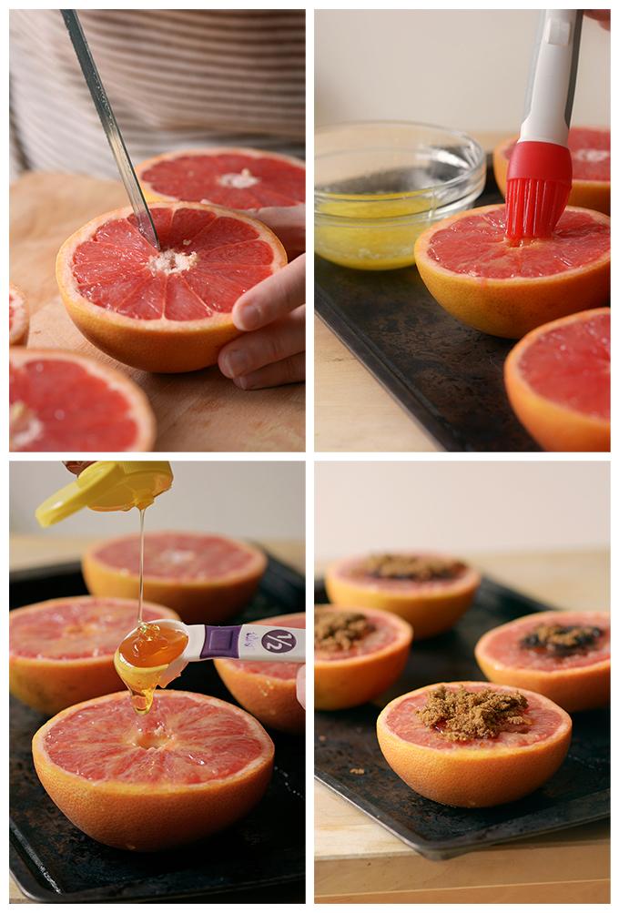 How to Make Baked Honey Brown Sugar Grapefruit