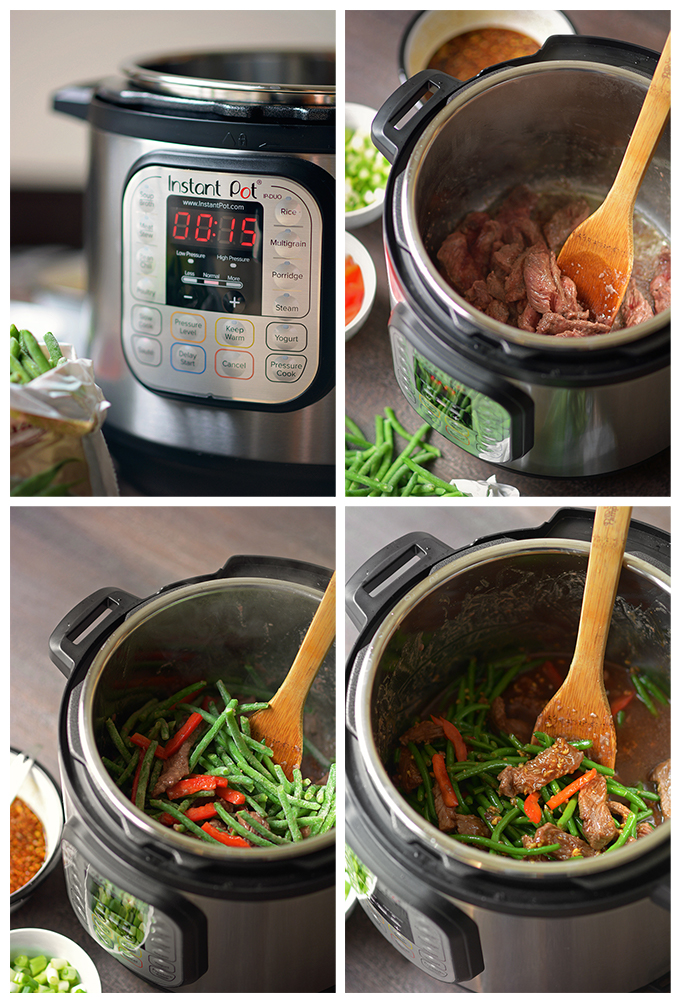 How To Make Instant Pot Mongolian Beef and Green Beans