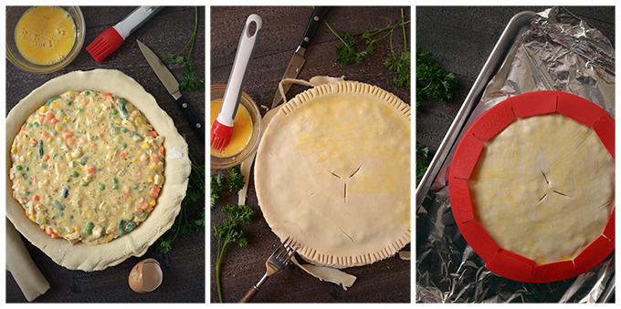 How to Make Leftover Chicken or Turkey Pot Pie