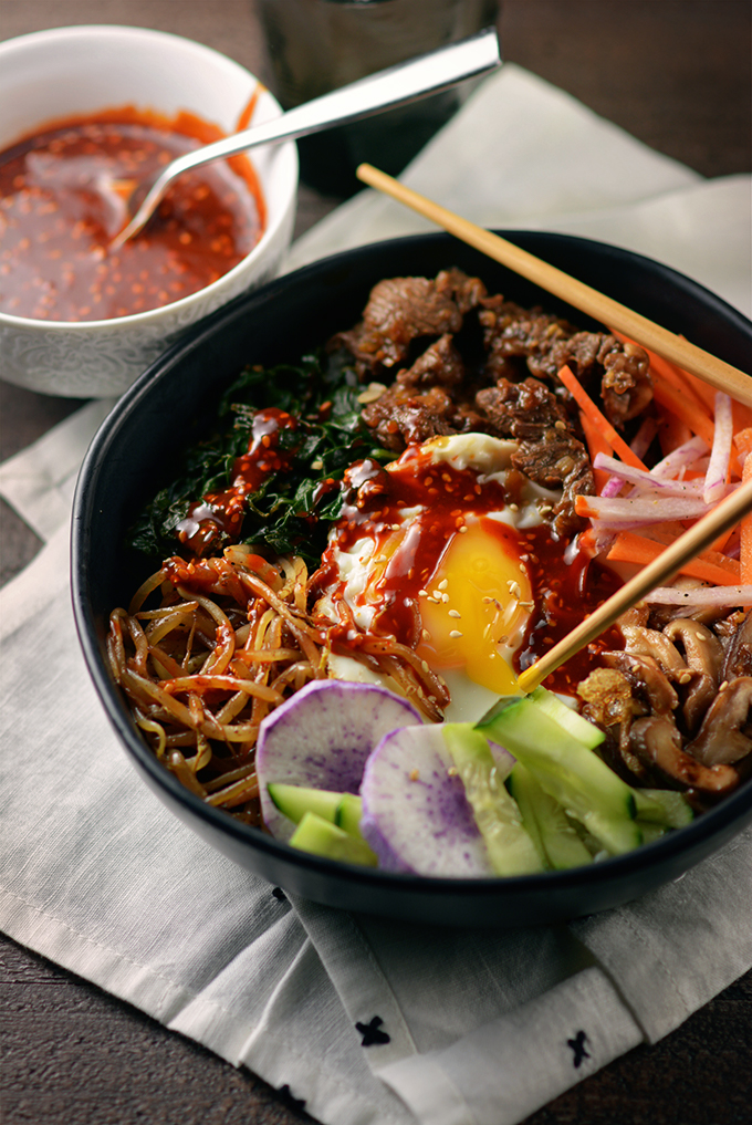 Korean Bibimbap Bowls Simple Seasonal