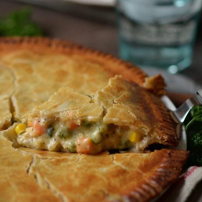 Leftover Chicken or Turkey Pot Pie