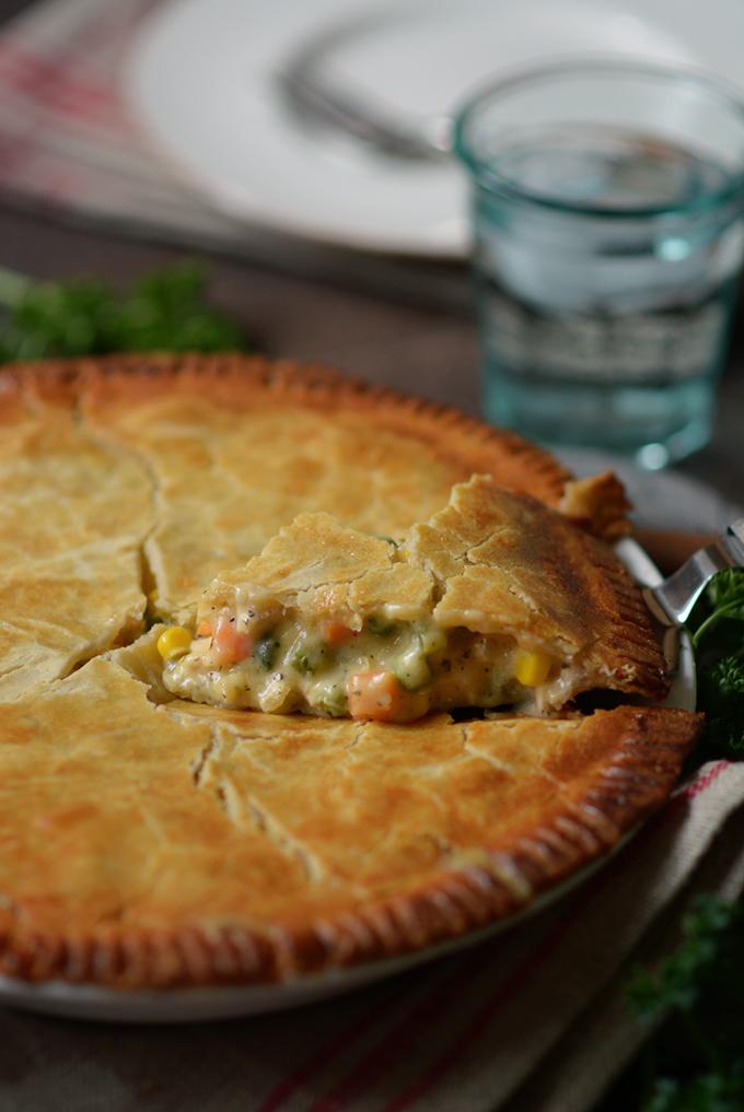 Leftover Chicken or Turkey Pot Pie
