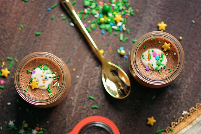 Dairy-Free and Vegan Irish Cream Mousse
