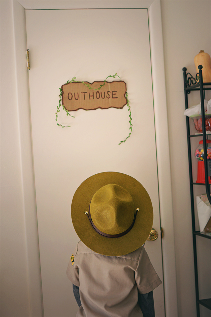 Outhouse Party Decoration