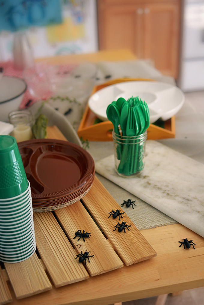 Toy Ants to Decorate Food Table