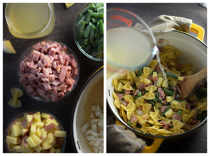 How to Make Pennsylvania Dutch Ham, Green Bean and Potato Soup