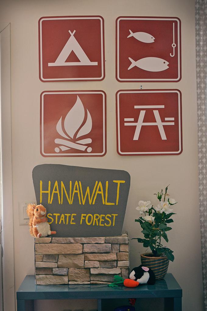 Homemade National Park Sign