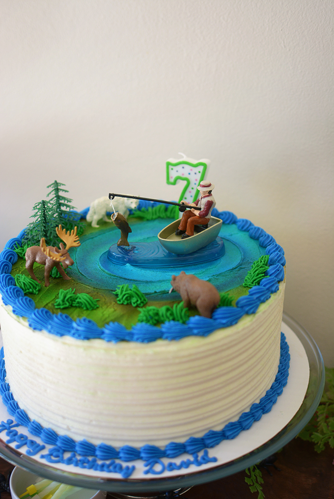 Wild Life Birthday Cake