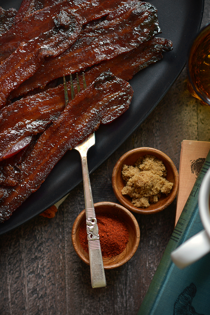 Chipotle Brown Sugar Candied Bacon