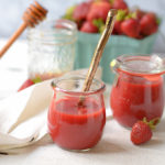 All-Natural Reduced-Sugar Strawberry Sauce